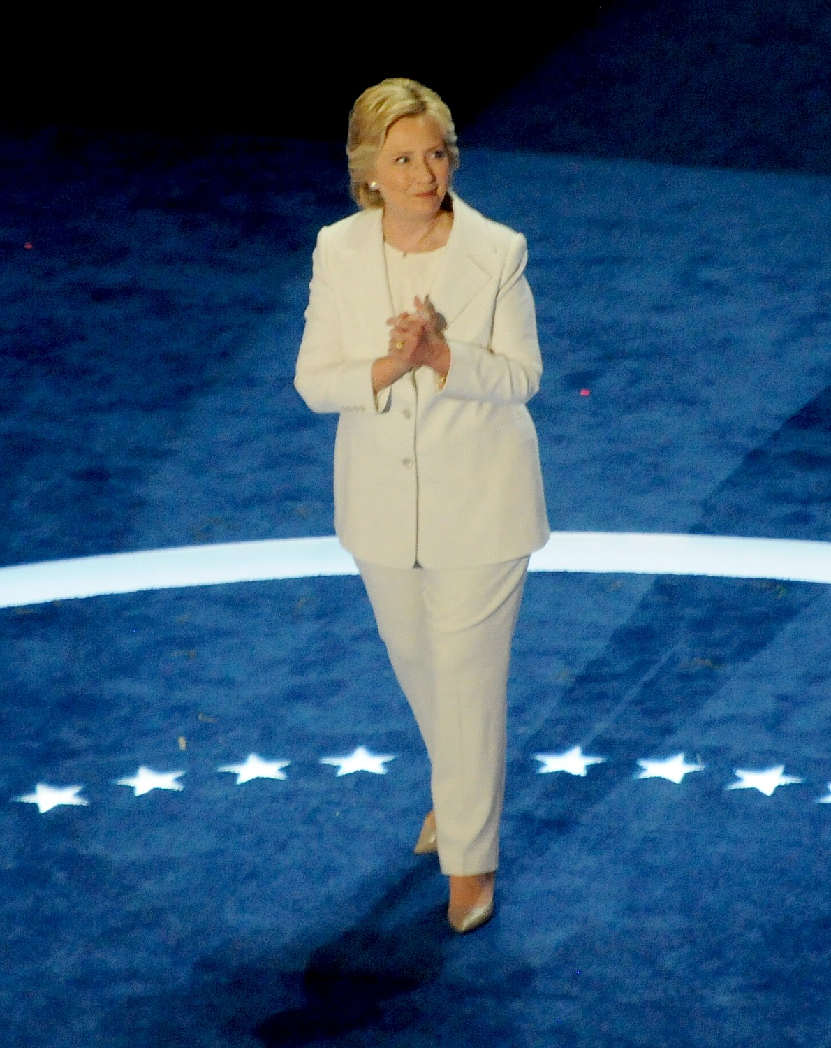 Historic nomination of Hillary Rodham Clinton for President by Democratic party, at Democratic National Convention in Philadelphia, July 2016 © Karen Rubin/news-photos-features.com