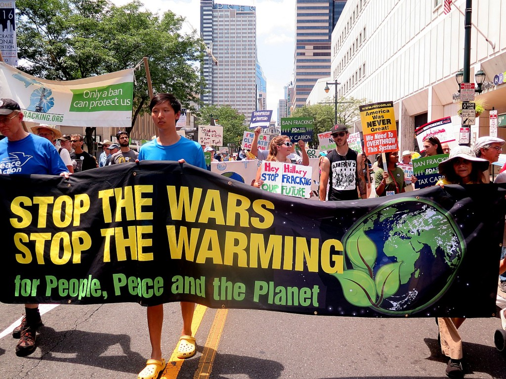 Climate Revolution March, Philadelphia July 24, 2016 © 2016 Karen Rubin/news-photos-features.com