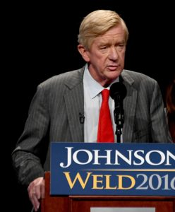 Libertarian candidate for Vice President Bill Weld says if they are allowed into the presidential debates, they will win the election © 2016 Karen Rubin/news-photos-features.com
