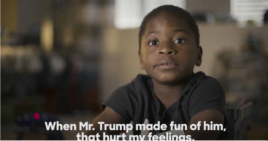 "New Hillary for America video documents ""The Trump Effect."""