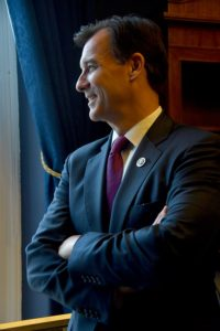 "Newly sworn in Congressman Tom Suozzi, Democrat from Long Island: ""If we all work together, we can solve any problem in the world."" © 2017 Karen Rubin/news-photos-features.com"